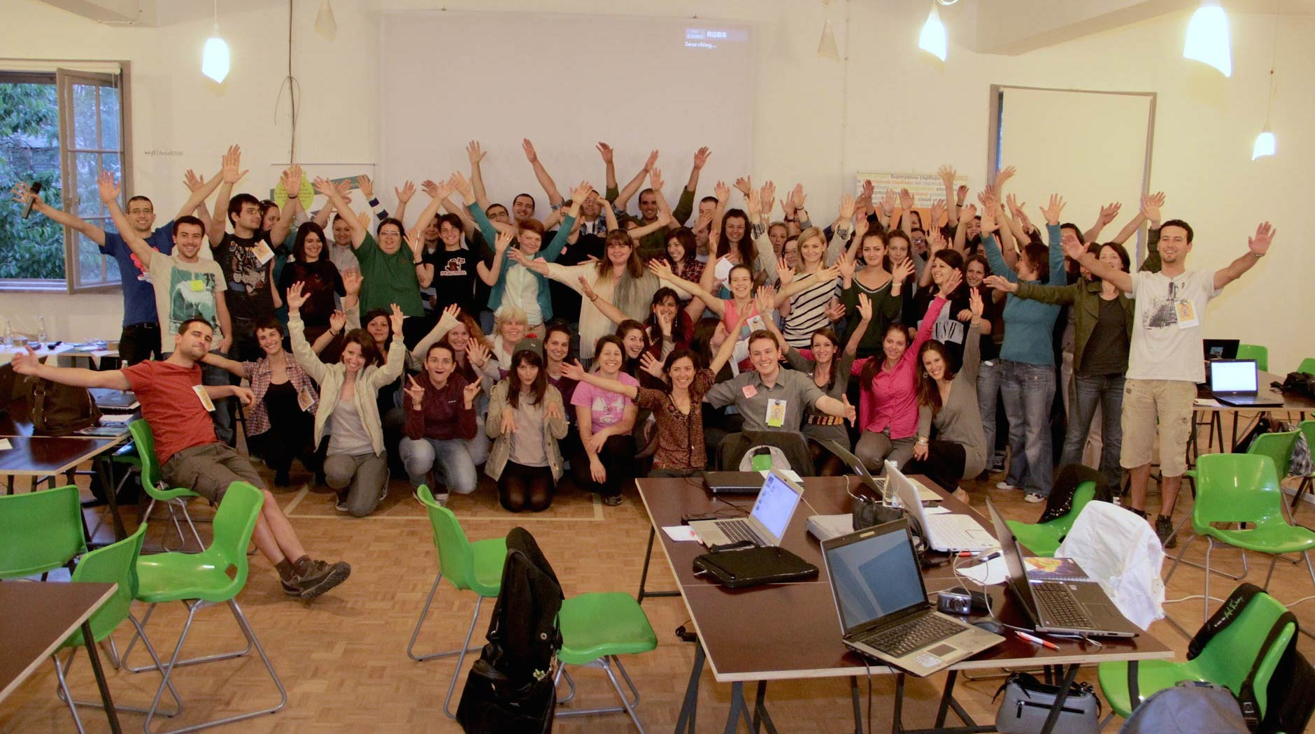 Rails Girls Sofia 2013 Friday Hug
