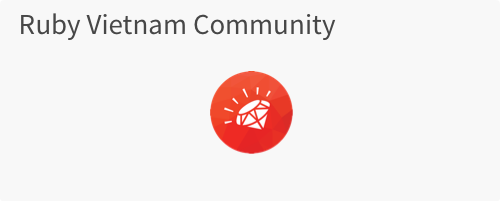 Ruby Vietnam Community