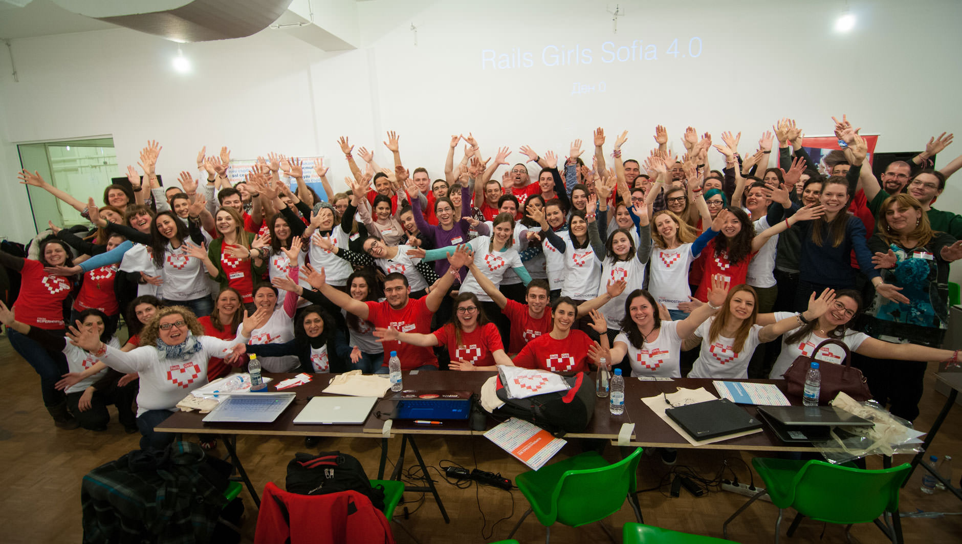 Rails Girls Sofia 4.0 March 2015 Friday Hug