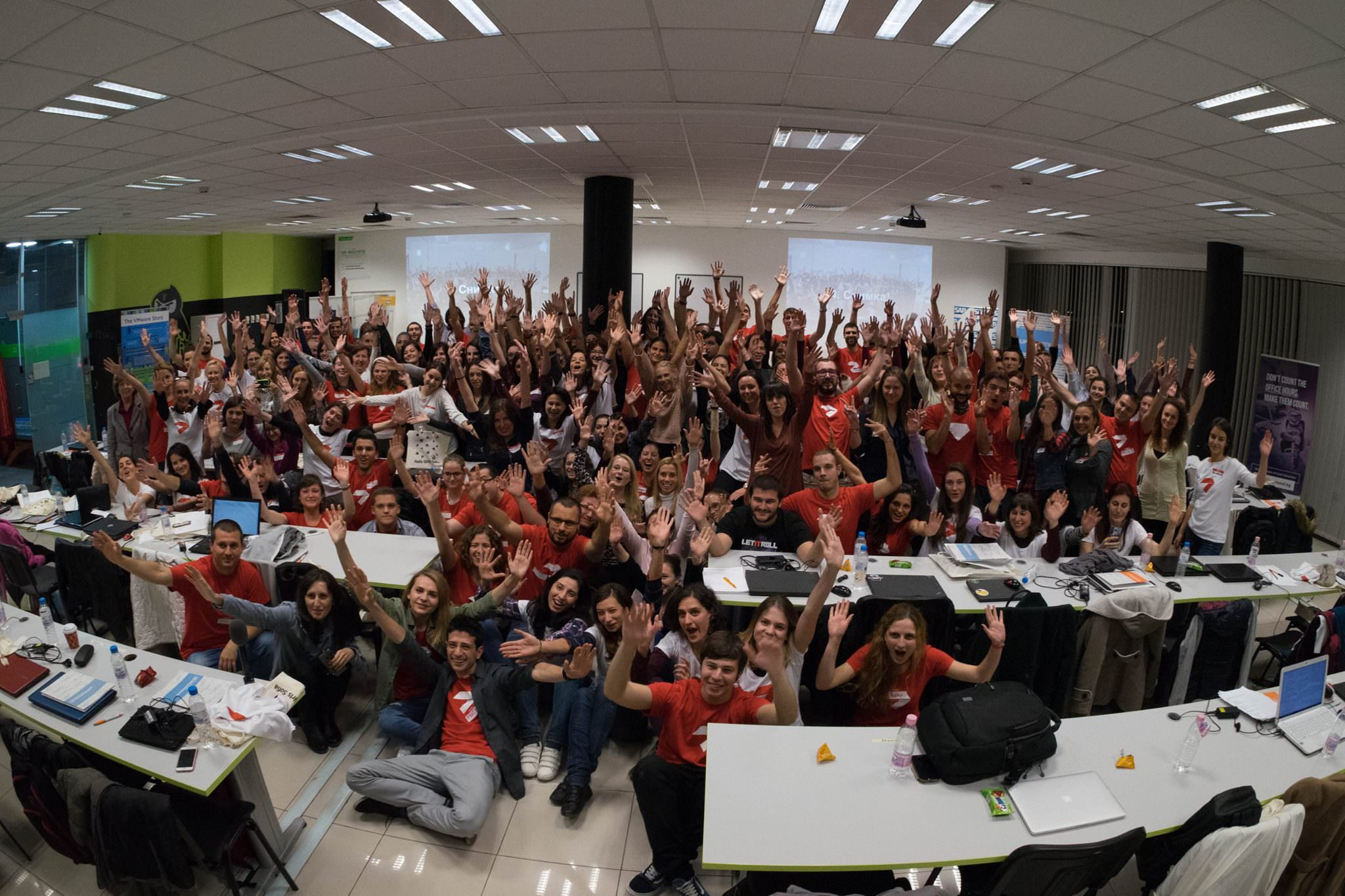 Rails Girls Sofia 7.0 OCtober 2016 Friday Hug