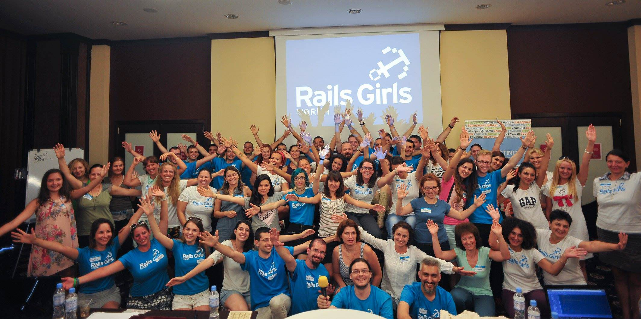 Rails Girls Varna 1.0 August 2015